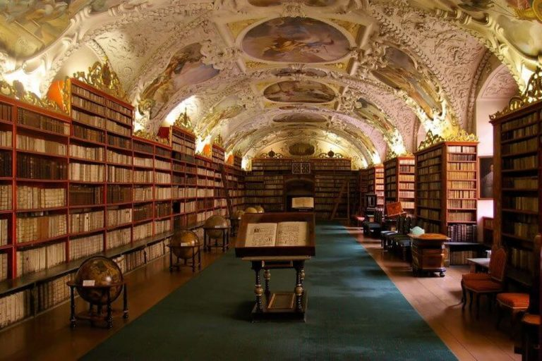 Main Hall at the Clementinum Library
