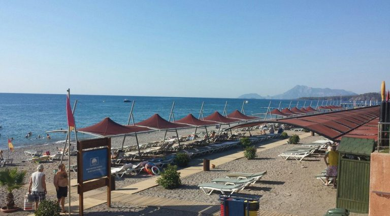Beach at Limak Limra Hotel & Resort is on the 1st line