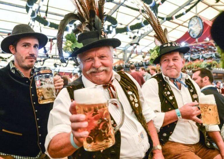 Native Germans at Oktoberfest