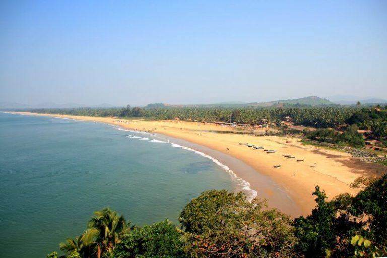 View of Gokarna Beach