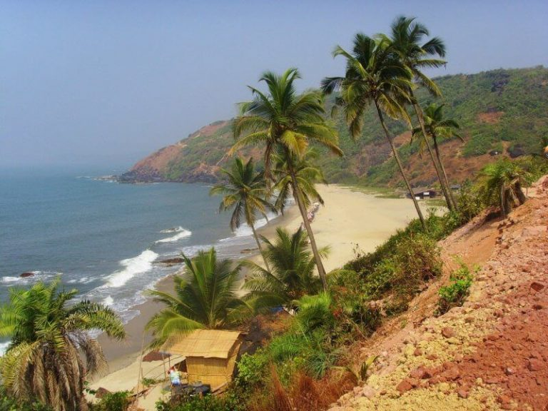 View of North Goa Beach