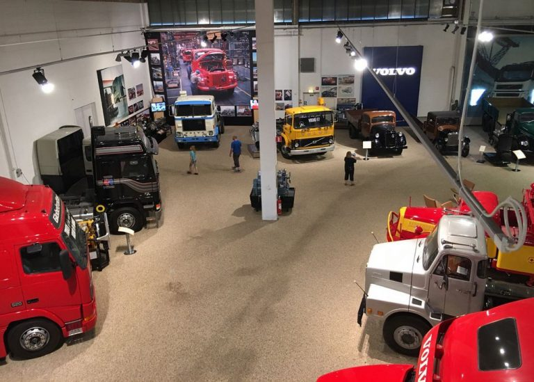 At the Volvo Museum