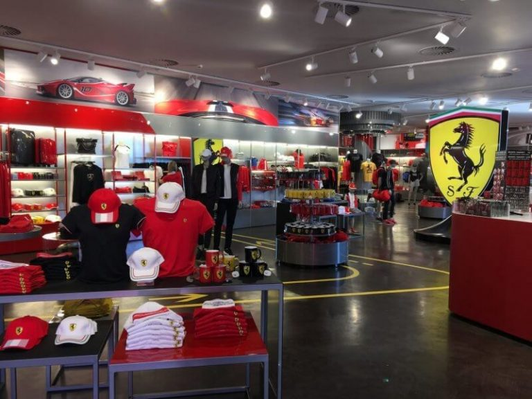 Shop at Ferrari Land