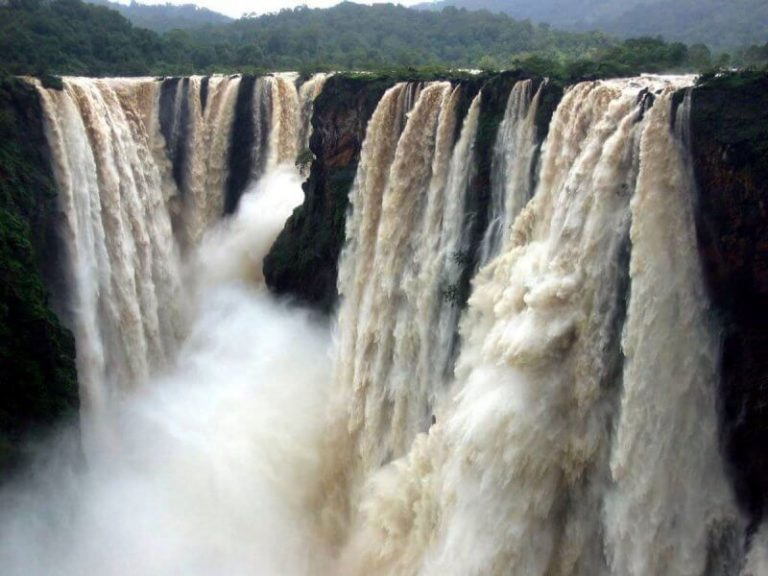 Jog Falls in the rainy season