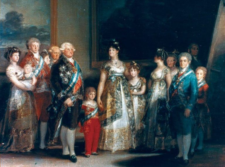 Family Portrait of Charles IV, Francisco Goya