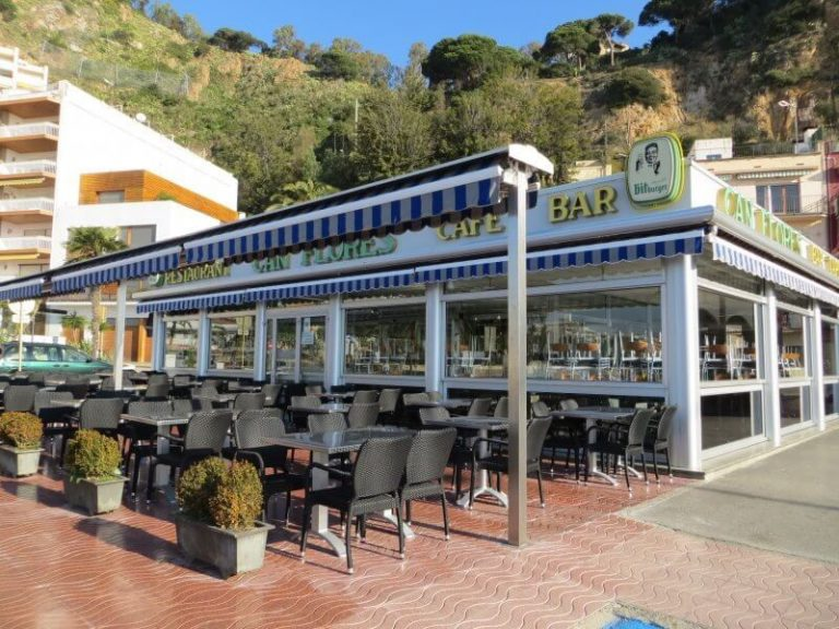 Cafe in Blanes