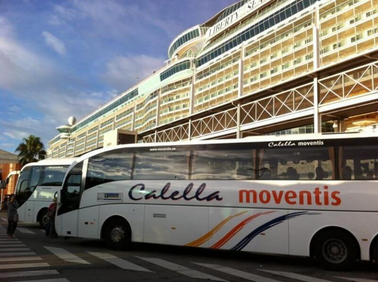 Bus to Calella