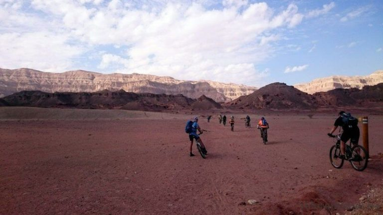 Cycling walks in Timna National Park