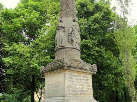 Monument to Friedrich Ludwig Skel
