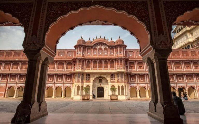 Palace complex in Jaipur