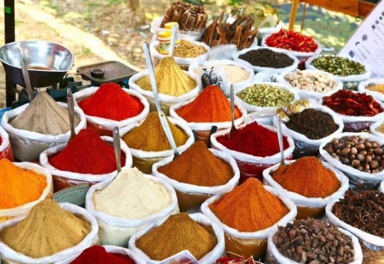 Spices from goa