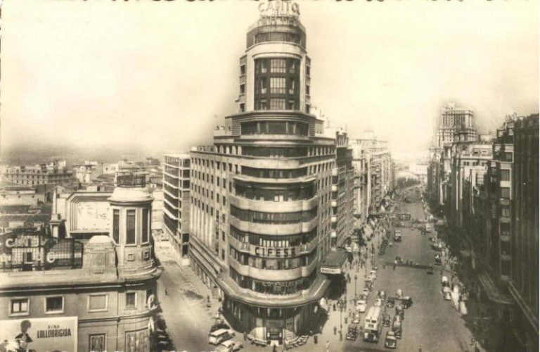 Old photo of Gran Via