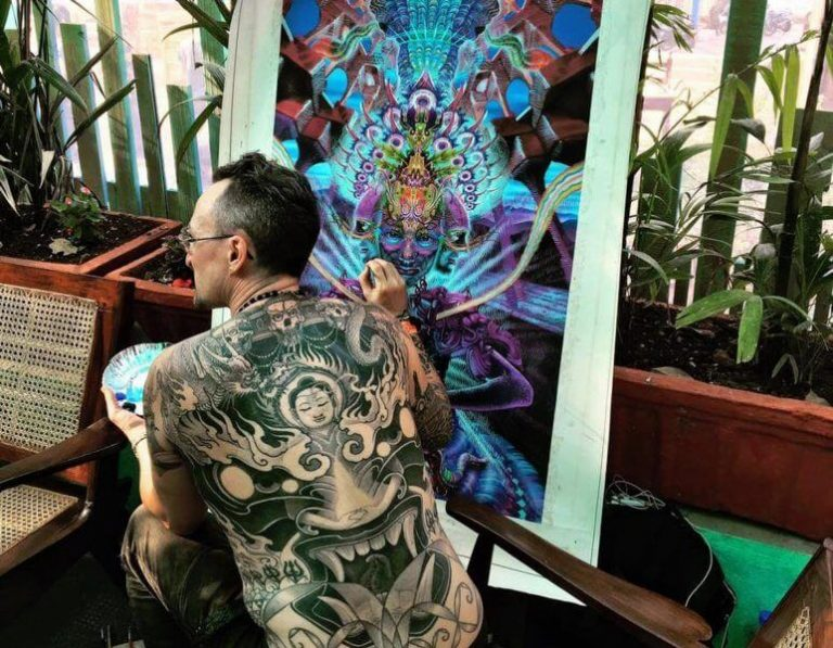 Member of Goa Tattoo Festival