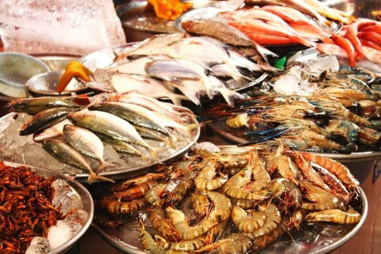Seafood in Goa