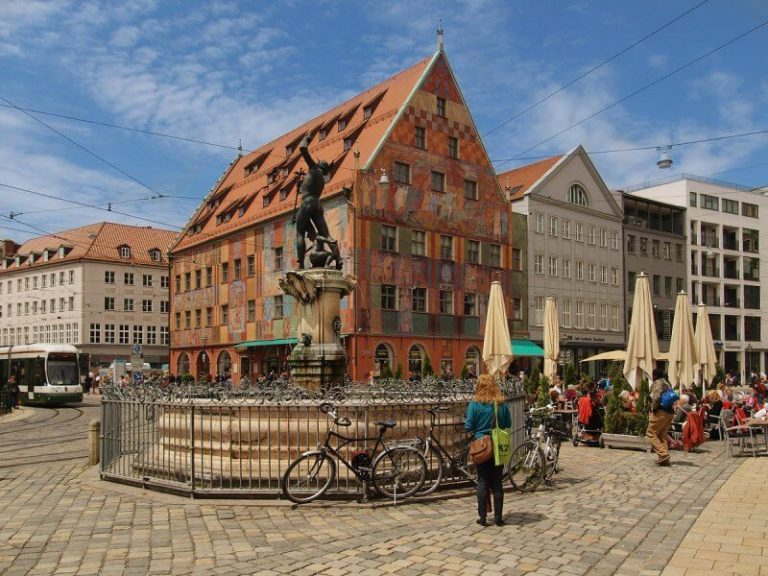 Old Town in Augsburg