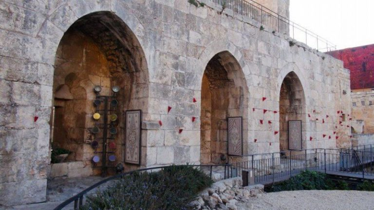 Entrance to the Tower of David Museum