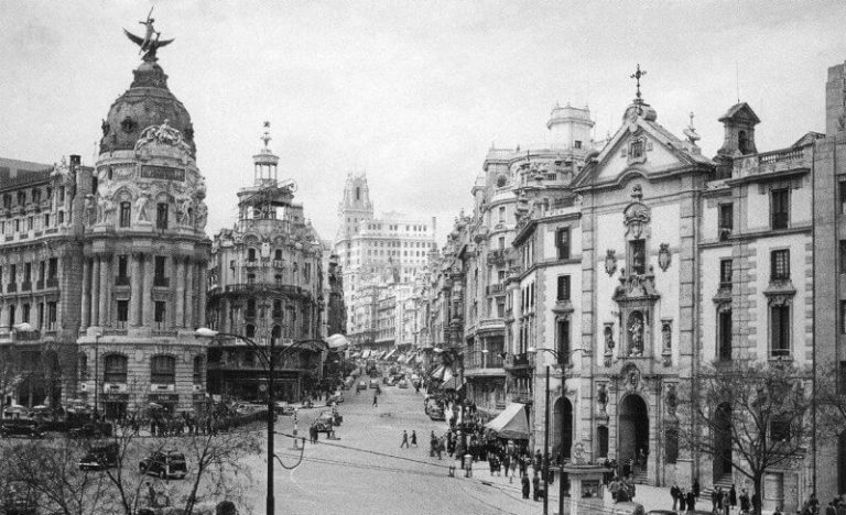 View of the old Gran Via