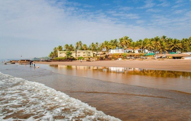 Beach in North Goa