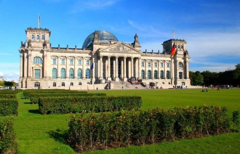 View of the Reichstag, Germany