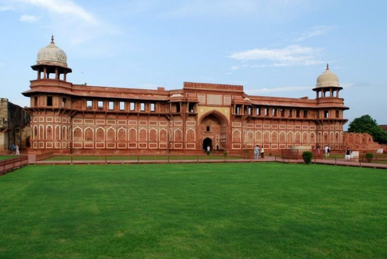 Red fort in the afternoon