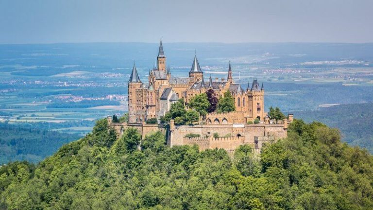 Hohenzollern Castle in Germany