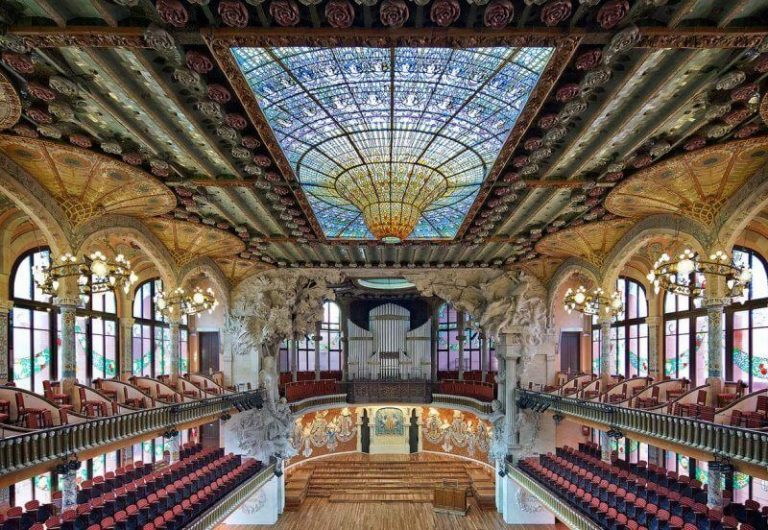 Main Hall of the Palace of Catalan Music