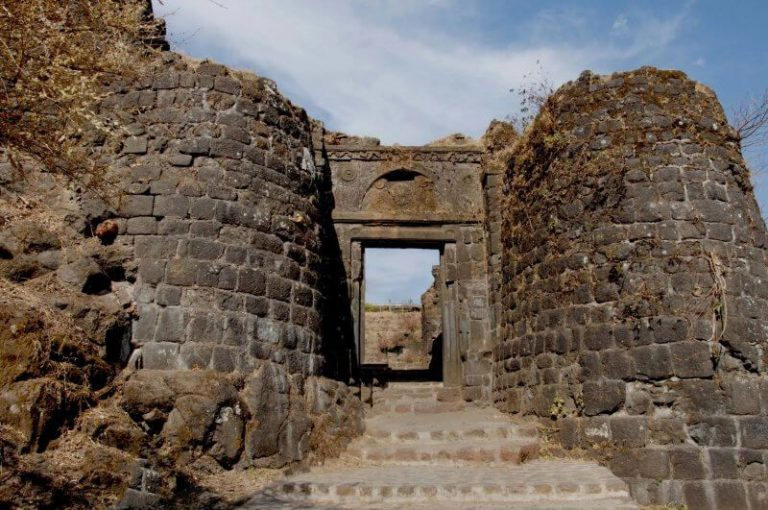 Gate of Sinhagad Fort