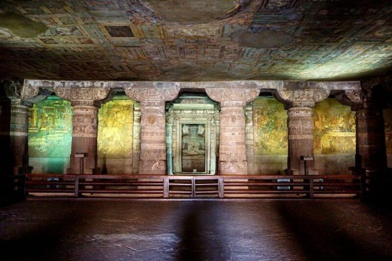 Cave number 1 in Ajanta