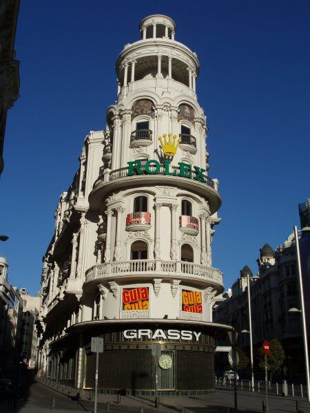 Grassi Building on Gran Via