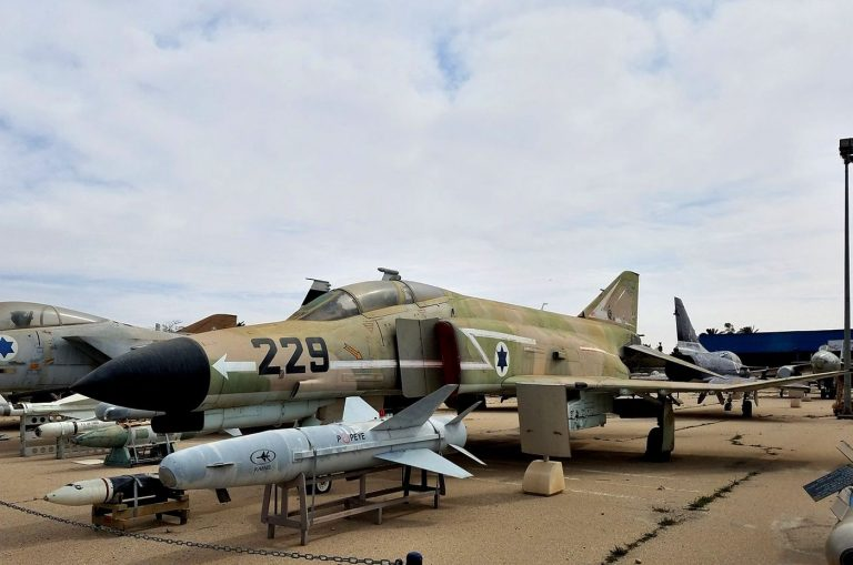 F-4E Phantom Aircraft