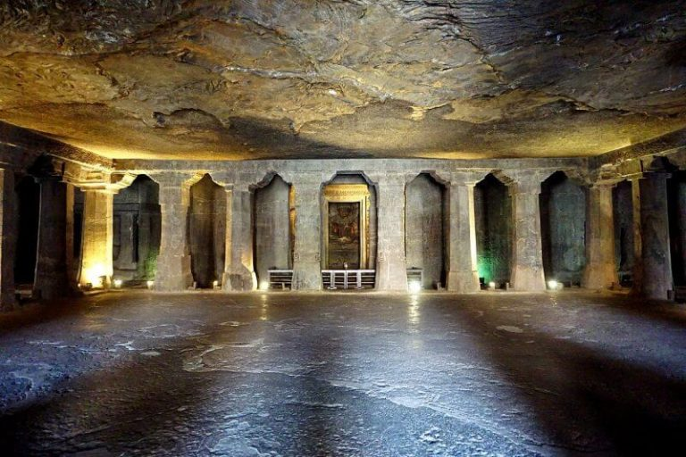 Cave number 5 in Ajanta