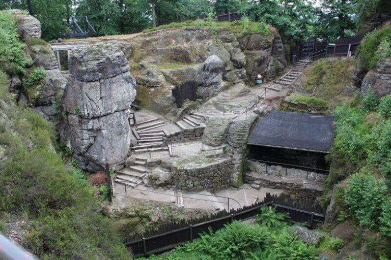 Rock fortress Neuraten