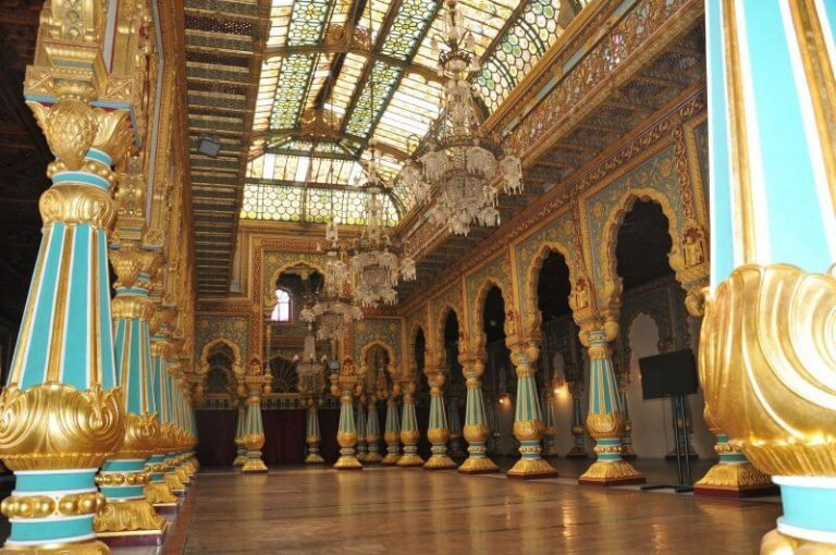 Hall of the Mysore Palace