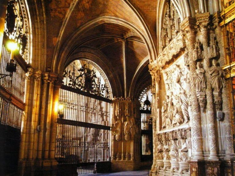 Entrance to the Cathedral of Burgos