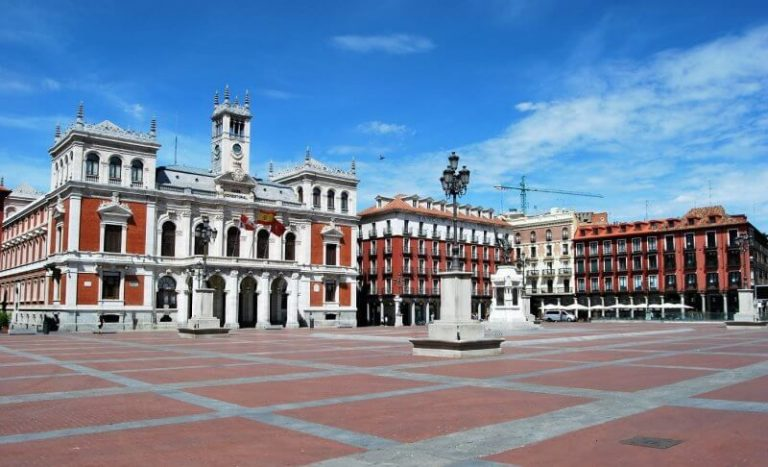 Valladolid main square