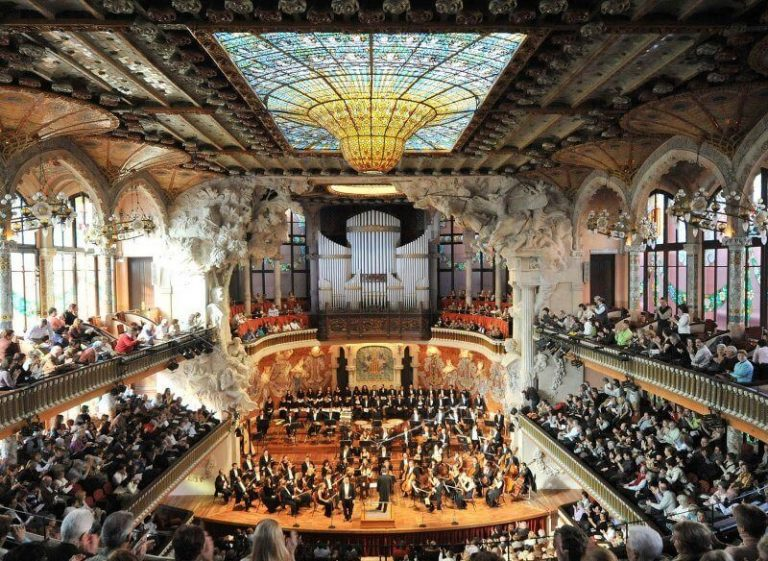 Concert at the Palace of Catalan Music