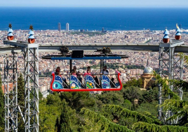 Attraction on Mount Tibidabo