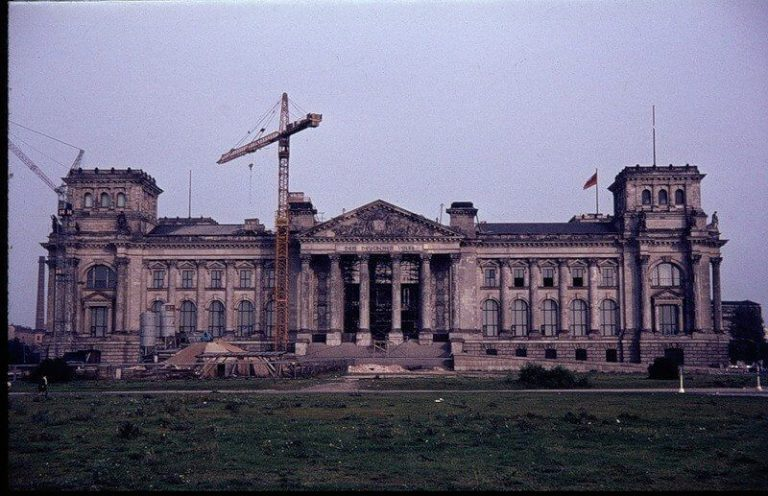 Reichstag before unification