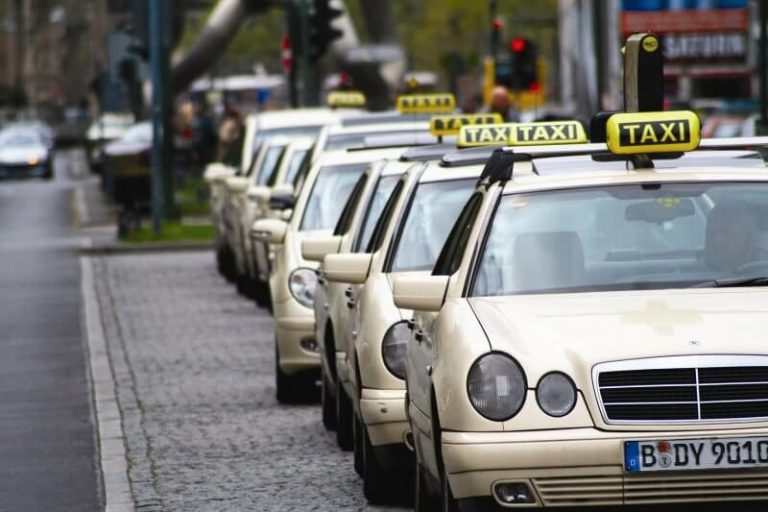 Taxi in Dresden