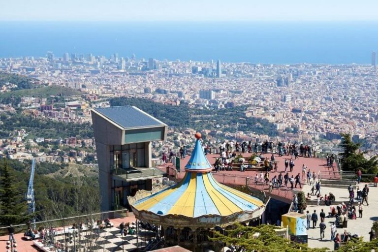 Observation deck on Mount Tibidabo