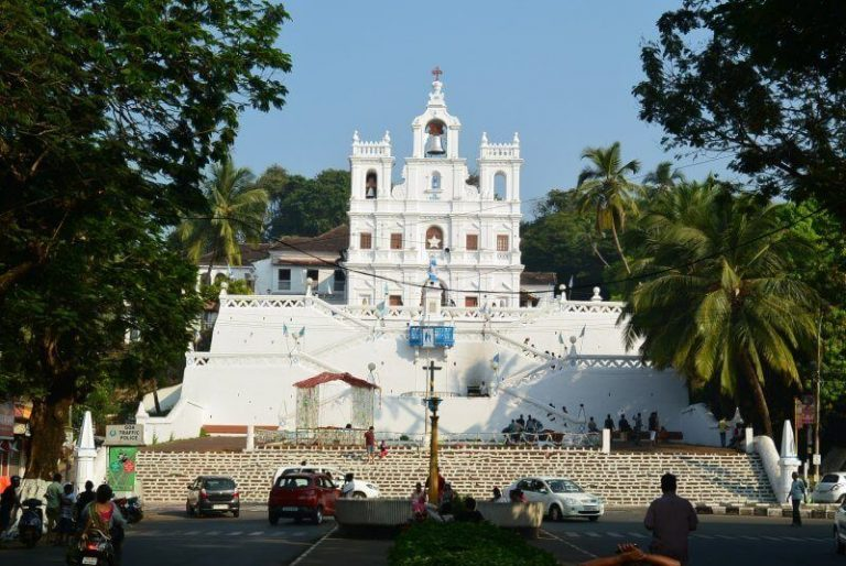 Temple of Our Lady of the Immaculate Conception in India