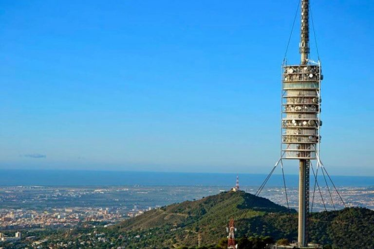 TV tower on Mount Tibidabo