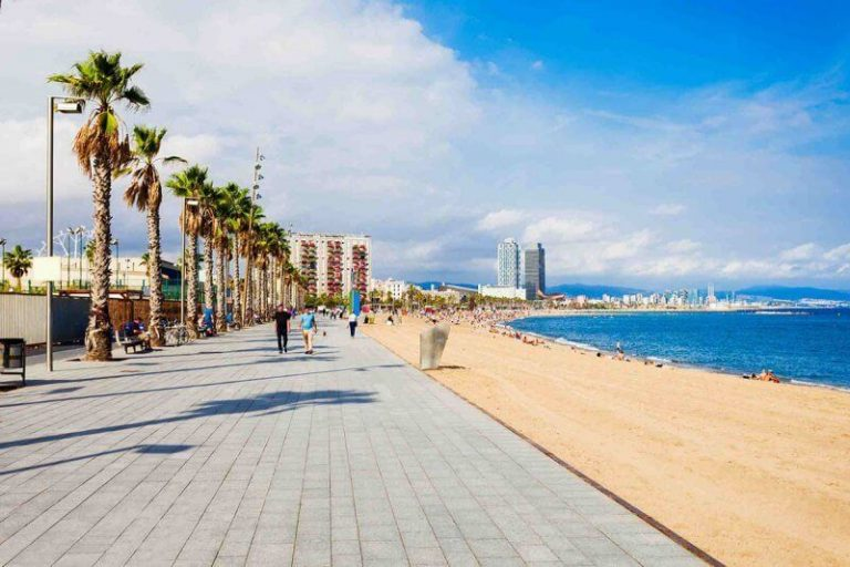View of Barceloneta Beach