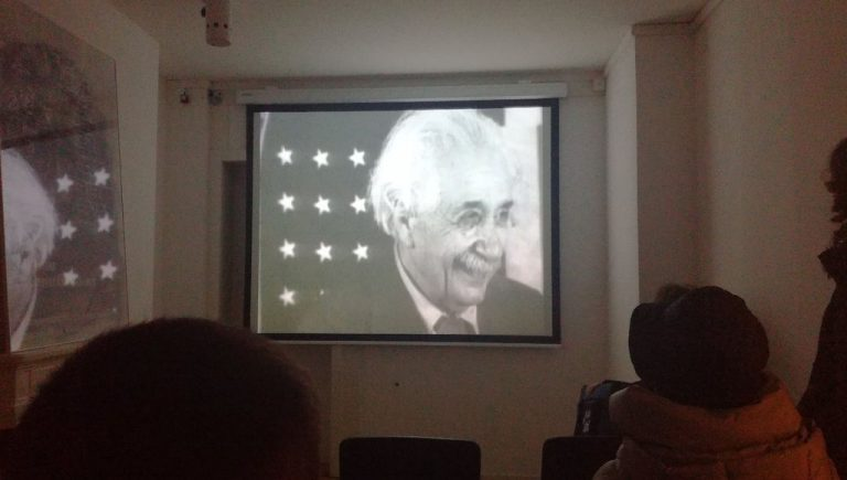 A documentary about the life of Einstein