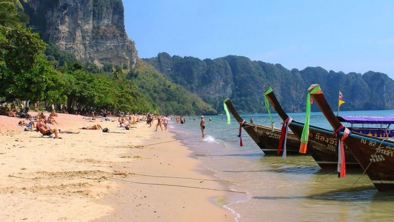 Ao Nang - the most developed resort in the province of Krabi