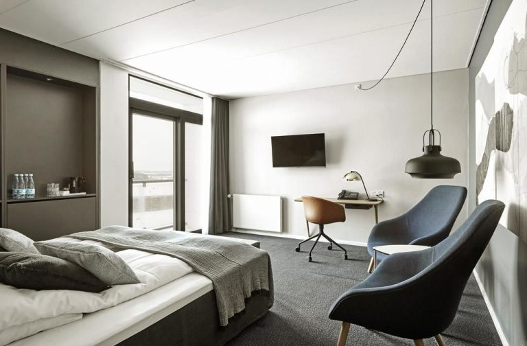 Room at the Comwell Roskilde Hotel