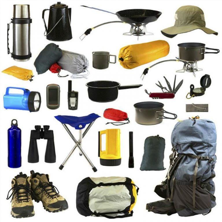 What equipment to take with you