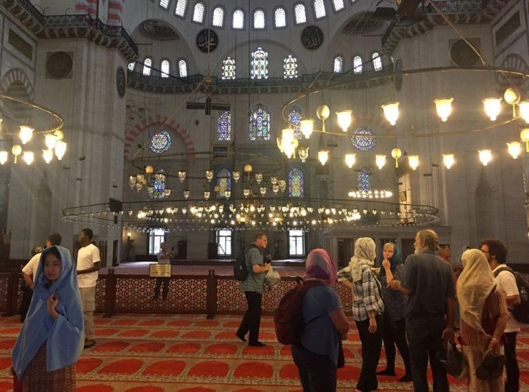Visit to the Suleymaniye Mosque