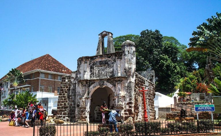 A'Famosa Fortress in Malacca