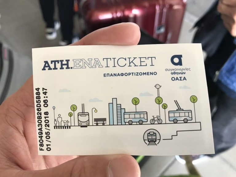 It looks like a subway ticket